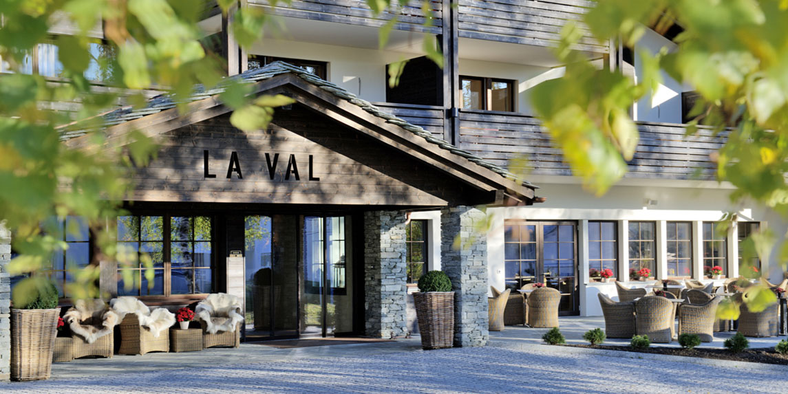 Hotel La Val in Brigels